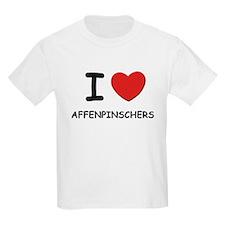 I love AFFENPINSCHERS T-Shirt