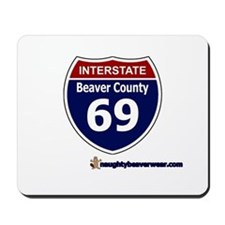Interstate 69 Beaver County Mousepad