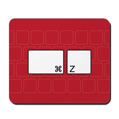 command z (red) Mousepad