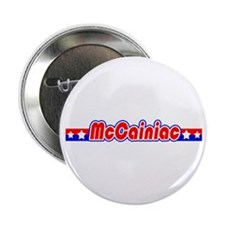"""McCainiac 2.25"""" Button"""