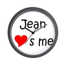 Unique Me to you heart to heart Wall Clock