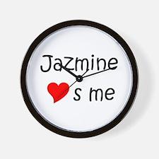 Unique Jazmine Wall Clock