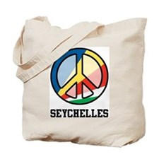 Peace In Seychelles Tote Bag
