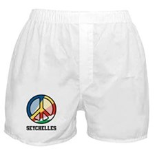 Peace In Seychelles Boxer Shorts