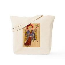 Book of Kells Angel Tote Bag