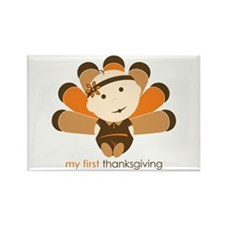 First Thanksgiving Baby Rectangle Magnet