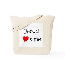 Funny Jarod Tote Bag