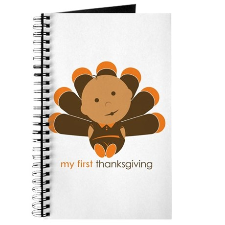 First Thanksgiving Baby Journal
