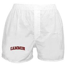 GAMMON Design Boxer Shorts