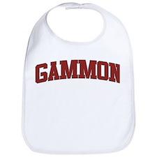 GAMMON Design Bib