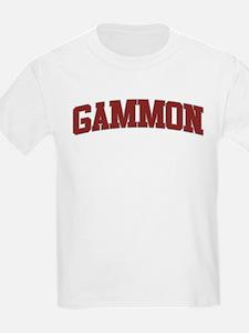 GAMMON Design T-Shirt