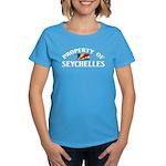 Property Of Seychelles Women's Dark T-Shirt