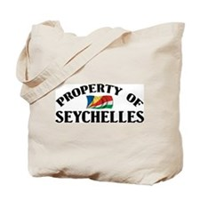 Property Of Seychelles Tote Bag