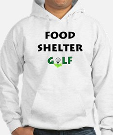Food Shelter Golf Hoodie