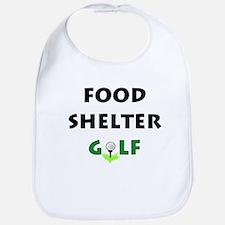 Food Shelter Golf Bib