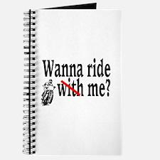 Wanna Ride (Me)? Journal