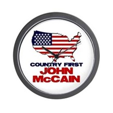 Country First Wall Clock