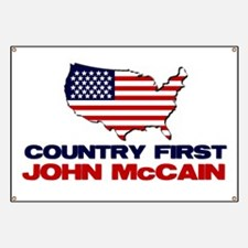 Country First Banner
