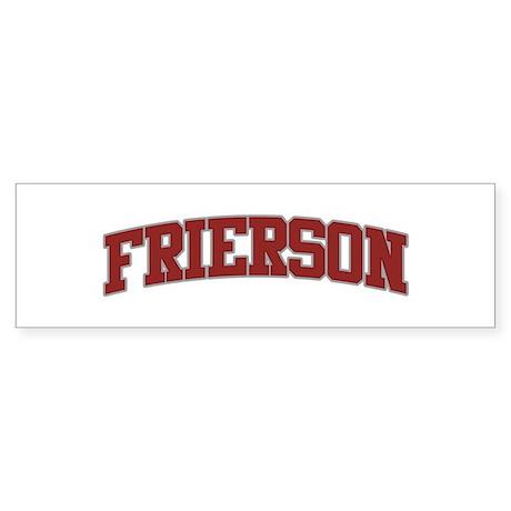 FRIERSON Design Bumper Sticker