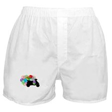 Retro Scooter Boxer Shorts