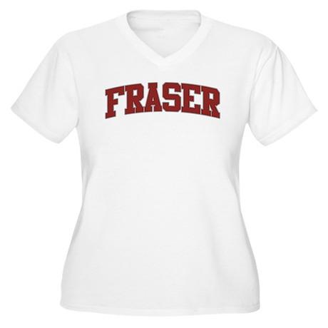 FRASER Design Women's Plus Size V-Neck T-Shirt