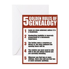 5 Golden Rules Christmas Card (Pk of 10)