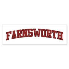 FARNSWORTH Design Bumper Bumper Sticker
