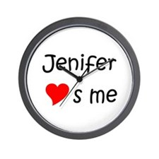 Jenifer Wall Clock