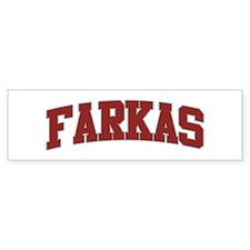 FARKAS Design Bumper Car Sticker