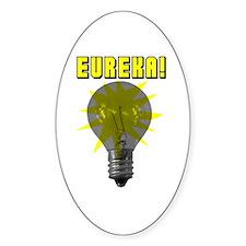 Eureka Light Bulb Oval Decal