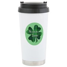 Scotch Irish Shamrock Travel Mug