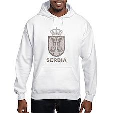 Vintage Serbia Hoodie Sweatshirt