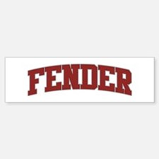 FENDER Design Bumper Bumper Bumper Sticker