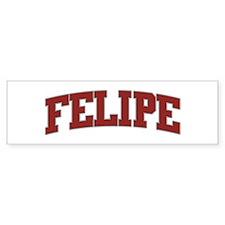 FELIPE Design Bumper Bumper Sticker