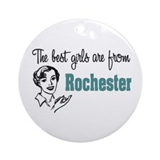 Best Girls Rochester Ornament (Round)