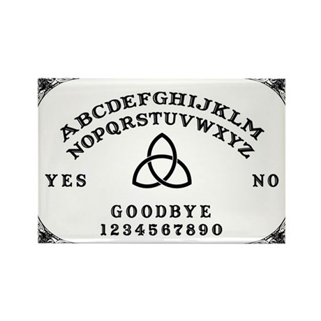 Ouija Board Rectangle Magnet (10 pack)