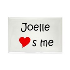 Joelle Rectangle Magnet
