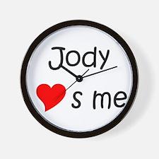 Cute Jody Wall Clock