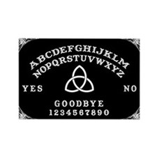 Ouija Board Rectangle Magnet