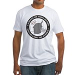 Survived Reunion Fitted T-Shirt