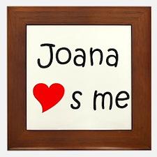 Unique Joana Framed Tile
