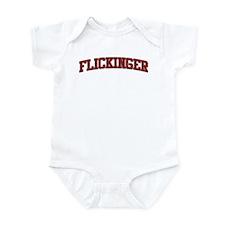 FLICKINGER Design Infant Bodysuit