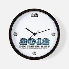 2012 Wall Clock