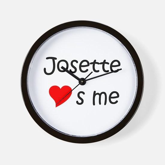 Cool Josette Wall Clock