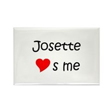 Unique Josette Rectangle Magnet
