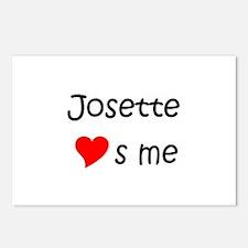 Unique Josette Postcards (Package of 8)