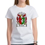 Brunelli Family Crest Women's T-Shirt