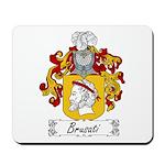 Brusati Family Crest Mousepad