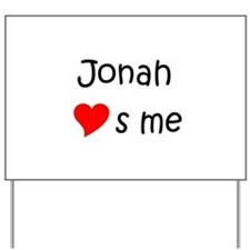 Jonah Yard Sign