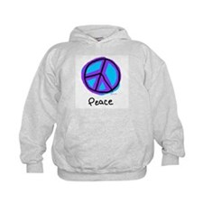 Happiness Peace Sign Hoodie